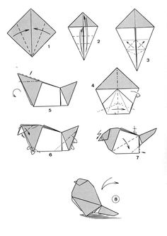 Origami Orca Instructions Part 1 Of 3 Make Sure To Check And