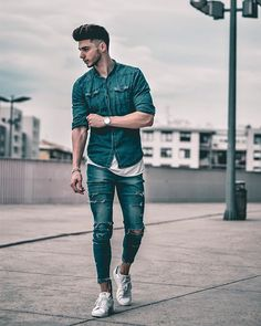 Style by @thatkris Yes or no? Follow @mensfashion_guide for dope fashion posts! #mensguides #mensfashion_guide