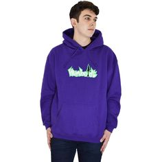 Embroidered Big Treelogo Pullover Hoodie