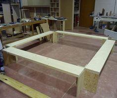 Wooden Bench on Behance #craft #wood #furniture #architecture #design