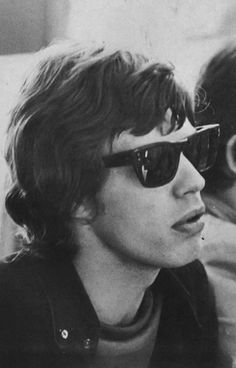 A young Mick Jagger. Making stunnin' look good then and now. www.stunnerofthemonth.com