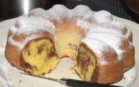 ..PIŠKOTOVÁ BÁBOVKA.. Camembert Cheese, Food To Make, French Toast, Food And Drink, Pudding, Sweets, Baking, Breakfast, Bundt Cakes