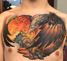 #chest #tattoos #chesttattoos