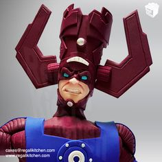 Galactus Cake Topper | Marvel Supervillain | Cakes by The Regali Kitchen