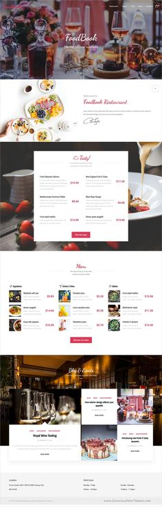 Foodbook is a wonderful 3in1 responsive #WordPress theme for #recipe community, #food blog or #restaurants website download now➩ https://themeforest.net/item/foodbook-recipe-community-blog-food-restaurant-theme/19150408?ref=Datasata