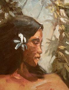 Nani Painting by Artist Wade Koniakowksy