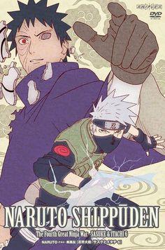 Obito and Kakashi Naruto Sharingan, Naruto Vs Sasuke, Naruto Shippuden, Kakashi Sensei, Naruto Art, Naruto Games, Naruto Sketch, Team Minato, Team 7