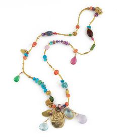 Hamsa Love Necklace DEC12-N5 http://www.jesmaharry.com/products/jewelry/necklaces/mixed-media-necklaces/hamsa-love-necklace
