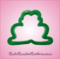 Green Frog Cookie Cutter