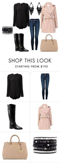 """#91"" by vicinogiovanna ❤ liked on Polyvore featuring 10 Crosby Derek Lam, J Brand, Tory Burch, Lavand., MICHAEL Michael Kors, Chan Luu, Oasis and Boots"