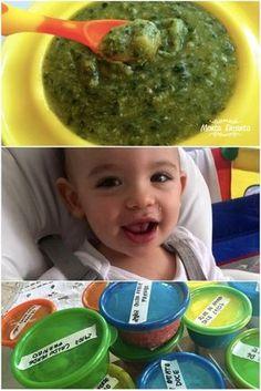 Caldo Verde com frango. O que é que na sopa do nenê? Será que tem mandioquinha?…