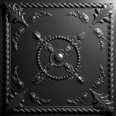 Alexander Black Ceiling Tiles