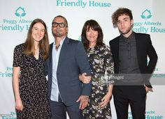 Sarah Grace White, Kurt Sutter, Katey Sagal and Jackson James White attend the Peggy Albrecht Friendly House's 27th annual awards luncheon at The Beverly Hilton Hotel on October 29, 2016 in Beverly Hills, California.