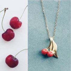 #cherryberry #kirsebær #gold #guld #silver #sølv #diamond #diamant #smykker #jewelry #jewellery #guldsmed #jeweller #goldsmith #handcrafted #handmade #danishdesign #guldsmedlouisedegn