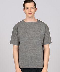 EN ROUTE MENS()のENR ペーパーライク スクエアTシャツ(Tシャツ/カットソー)|グレー