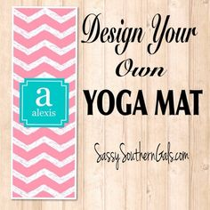 patterns personalized and your mat design monogrammed mats pin own from choose yoga
