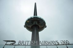 Now Open! The world's tallest moving #ObservationTower, the British Airways #i360, opened in the seaside town of #Brighton, England. Find out more about the 531-foot-high structure, via The New York Times.