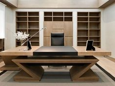 Best Executive Interior Design for Your Office. Best Executive Interior Design for Your Office. Office interior design for executives and tips on organizing and decorating the interior of the office. Corporate Office Design, Office Cabin Design, Small Office Design, Office Furniture Design, Industrial Design Furniture, Office Interior Design, Home Office Decor, Office Interiors, Home Decor