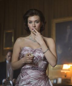 Actress Vanessa Kirby who plays Princess Margaret in The Crown, the Netflix royal biopic, says that Princess Margaret never forgave the Queen for blocking her marriage to divorced Peter Townsend