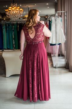 Burgundy Plus Size Prom Dresses V-neck Sexy Lace Long Prom Dress Plus Size Gowns, Plus Size Prom Dresses, Modest Dresses, Bride Dresses, Prom Dresses 2017, Party Dresses, Mothers Dresses, White Wedding Dresses, Look Fashion