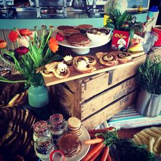 Easter buffet Vrolijk Pasen The Fat Mermaid Scheveningen