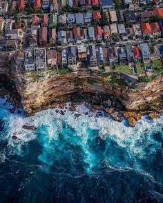 Living close to the edge in Sydney, Australia Visit Australia, Australia Travel, Gaia, Scuba Diving Australia, Australian Beach, Koh Tao, City Photo, Travel Destinations, Travel Photography