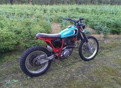 Yamaha XT600 bratstyle scrambler