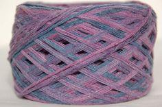 Raw Bamboo Yarn Hand Dyed 100gram / 3.5 oz Vegan by Klarabela, $10.00