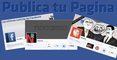 Espacio exclusivo para Paginas de Facebook, aumenta la visibilidad de tu Pagina publicandola aqui. Si tenes una pagina en Facebook y crees que es la mejor y queres tener mas Fans, lo ideal es que promociones tu Pagina lo mas que puedas, por ejemplo dejand