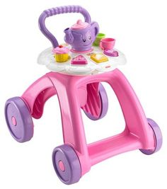 Fisher Price Laugh and Learn Smart Stages Musical Tea Cart Walker Baby Activity Toys, Infant Activities, Stage Musical, Baby Toys, Kids Toys, 80s Kids, Push Toys, Tea Cart, Storage Cart