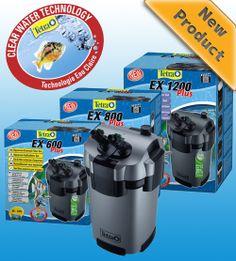 Filtro Tetra EX Plus externo - varias referencias EX600 EX800 EX1200