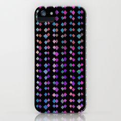 Montauk Diamond Dust iPhone & iPod Case by Schatzibrown #pattern #geometric #diamond #schatzibrown