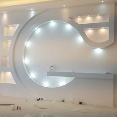 Lcd Unit Design, Lcd Wall Design, Front Wall Design, Tv Unit Interior Design, Interior Ceiling Design, House Ceiling Design, Ceiling Design Living Room, Home Stairs Design, Home Room Design