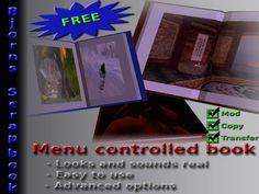 Bjorn's FREE Scrapbook - Organize your textures, publish a book!