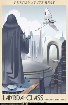 Star Wars 'Travel Posters' By Sci-Fi Specials