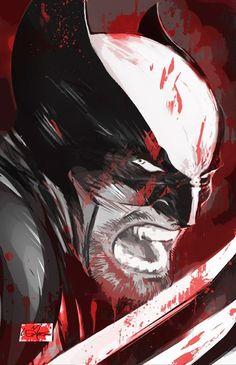 Wolverine by Louie De Martinis