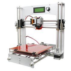 Geeetech® Aluminum Prusa I3 3D Printer DIY Kit Support 5 Filament 1.75mm 0.3mm / 0.35mm / 0.4mm