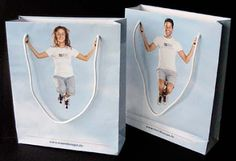 Crookedbrains: Clever and Creative Bags Advertisements.
