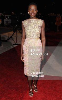 News Photo: Actress Lupita Nyongo arrives at the 25th Annual…