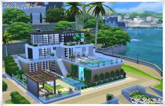 The Sims-My House : Confort House
