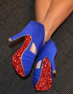 """the shoe-tattoo"" glitter red Shoe Tattoos, Stiletto Heels, Glitter, Red, Pink, Shoes, Collection, Fashion, Zapatos"