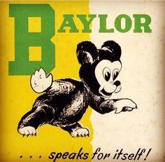 Old Baylor Bear