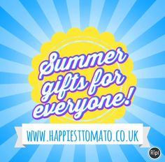 Summer gifts! http://www.happiesttomato.co.uk/ #gifts #summer #birthday #jewellery #tuesday