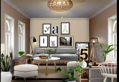 Neybers - An Interior Design Playground My Design, House Design, Absolutely Gorgeous, Beautiful, Playground, Gallery Wall, Layout, Living Room, Interior Design