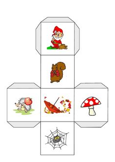 Story Cubes, Autumn Crafts, Nature Crafts, Ms Gs, Writer Workshop, Writing Styles, Conte, Early Learning, Kids Education