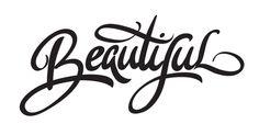 Calligraphy by Kirill Richert, via Behance