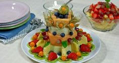 Fruktkake & fruktsalat – Berit Nordstrand