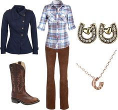 """""""Cowgirl Style"""" by kajora on Polyvore"""