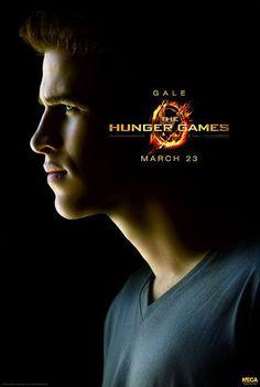 Póster The Hunger Games (Los Juegos del Hambre). Gale