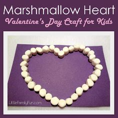 Little Family Fun: Marshmallow Heart